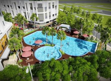 Hồ bơi bể vầy cho trẻ em